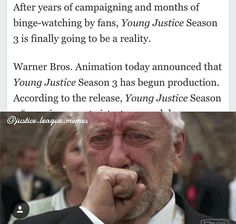 It's real Young Justice season 3!!!!