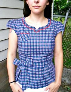 Alma Blouse Pattern Uk 119