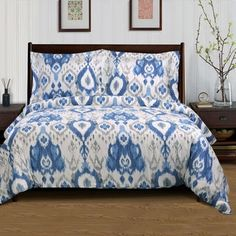 Superior Mountlake 300 Thread Count Cotton Duvet Cover Set