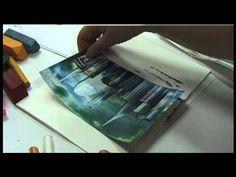 Encaustic Malerei - Schritt für Schritt Anleitung zu Städte & Landschaften - YouTube