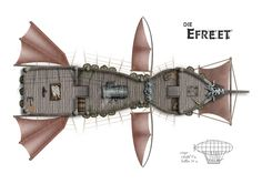 Dundjinni Mapping Software - Forums: Dwarven Steam Airship