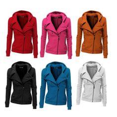 .@doubljucompany | #DOUBLJU Womens Fleece Zip-up Hoodie with Zipper Point (PWD005) #girl, #women... | Webstagram
