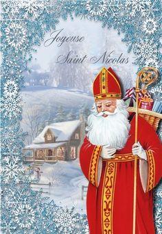 carte de st nicolas Les 411 meilleures images de St Nicolas Noël en 2020 | Noel, Saint