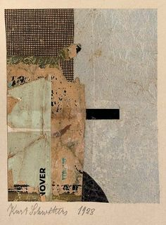 Untitled (nover) by Kurt Schwitters Kurt Schwitters, Painting Collage, Collage Artists, Paintings, Robert Rauschenberg, Photomontage, Arte Yin Yang, Illustration, Mixed Media Collage