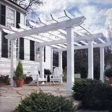 How to Build a Shade Arbor | This Old House