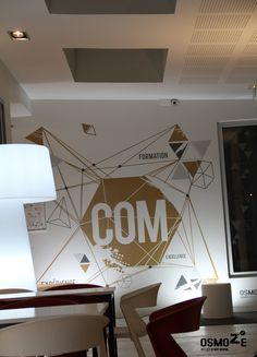Décoration murale > Signaletique > Ecole Universite ISCOM > Design Wall Art
