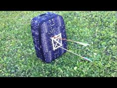 Best DIY Homemade Archery Target - portable and cheap. - YouTube