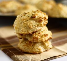 Cheddar Bay Red Lobster biscuits. Jordan nearly attacked me when I said I've never had them. I guess I can humor him.