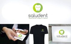 #Logotipo para #Saludent. #ClinicaDental en #Huelva. #logo #GraphicDesign