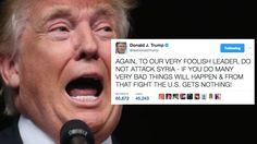 President Donald Trump authorized a targeted airstrike against a Syrian air base from the comfort of his Florida country club late Thursday night.  Trump defended the move to reporters, saying Syri...