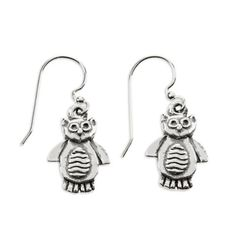 Adorable Pewter Owl Earrings by ComputerGear make a cute gift for the owl lover on your gift list. Now Black Friday Sale priced at 1/2 off! Hurry stock limited. More science nature gifts at www.ComputerGear.com.