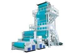 Two Layer Blown Film Extrusion Lines with the best combination of technology and performance. These low investment, power efficient, high - speed plants can give processors the competitive edge and quick return on their investment by Ocean Extrusions.
