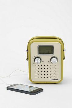 Crosley CR8006A Songbird Radio Speaker #urbanoutfitters