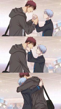 Anime Dad, Me Me Me Anime, Anime Guys, Kagami Kuroko, Kagami Taiga, Basketball Baby, Kuroko's Basketball, Kuroko No Basket Characters, Kiseki No Sedai
