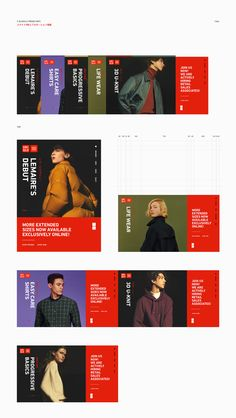 Apparel that comes from Japanese values of simplicity, quality and longevity. Designed to be of the time and for the time. Made with such modern elegance that it becomes the building blocks of your style. Uniqlo never stops evolving because your life never stops changing #website #webdesign #ui