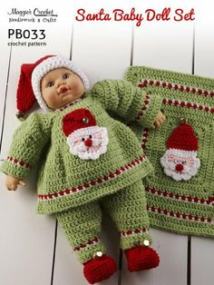 PB033-R Santa Doll Crochet Pattern by Maggie Weldon. $8.02. 14 pages. Publisher: Maggie's Crochet (February 19, 2013)
