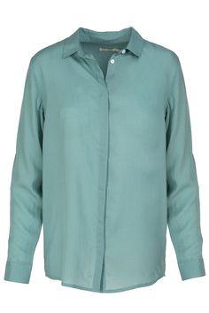 ArmedAngels Aida blouse mintgroen | Sophie Stone