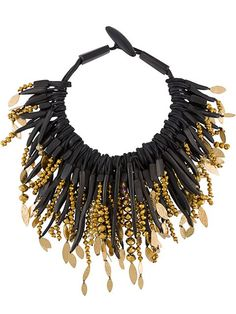 Shop Monies beaded necklace in 519 from the world's best independent boutiques at farfetch.com. Shop 400 boutiques at one address.