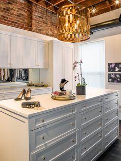Alexandra Kaehler Design : White master closet