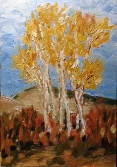 Evelyn Oldroyd's  Painting Blog: Autumn Alders Painting Gallery, Art Blog, Autumn, Artist, Fall Season, Artists, Fall