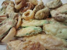 Frittura Mista di calamari, paranza e verdure fresche  #food #bagnocerboli #follonica #italianfood #foodfotografy #fishfood
