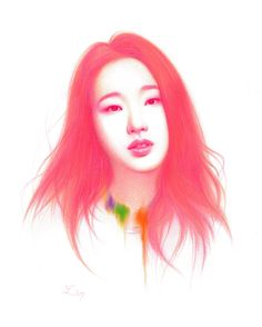 kim go eun illust by bokyung
