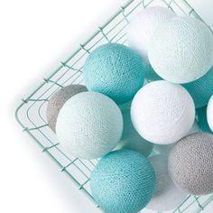 Cotton Ball Lights soft mint - Cotton Ball Lights - Verlichting