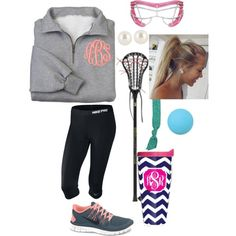 lacrosse practice, created by kk-wake on Polyvore