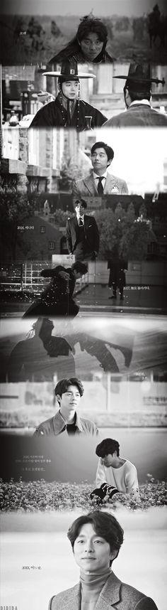 Timeline Goblin ❤❤ 공유 Gong Yoo ♡♡ Life was its usual and then there's Yoo. Kim Go Eun, Kim Min, Korean Celebrities, Korean Actors, Goblin Korean Drama, Goblin Gong Yoo, Goblin Kdrama, Yoo Gong, Goong