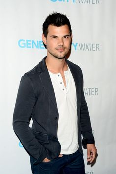 Taylor Lautner attends the Generosity Water Launch.