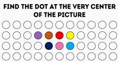 This Test Will Determine the Sharpness ofYour Eyesight inOne Minute