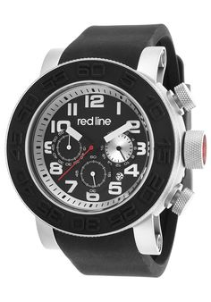 Image for Xlerator Chronograph Black Silicone and Dial SS Silver-Tone Accents from World of Watches