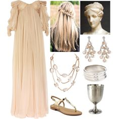 """Hebe (Goddess of Youth)"" by lilacmayn on Polyvore"