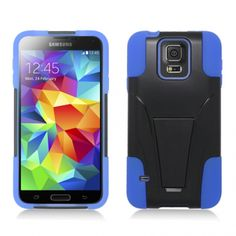 CellJewel.com is proud to announce that we are now carrying Sleek Hybrid Cases with V-Style Kickstand for the Samsung Galaxy S5 Mini!