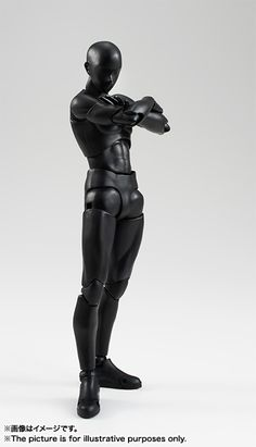 S.H.Figuarts ボディくん(Solid black Color Ver.) 02
