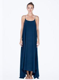 Erin Dress Petrol Blue