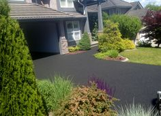 Rubber driveway anyone?? Bet you didn't know this is made from recycled tires, hmm?