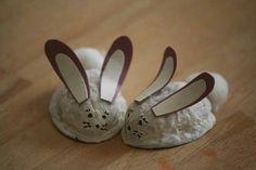 Ceviz kabuğundan tavşan