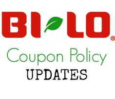 Bi-Lo Coupon Policy Changes