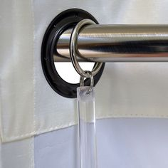 Keep your curtains looking great as you open and close them with the Versailles Home Fashions Acrylic Drapery Puller. This sturdy puller pulls curtains without damaging the fabric. With a clear construction, this won't distract from your curtains' beauty. Types Of Curtains, How To Make Curtains, Grommet Curtains, Hanging Curtains, Drapes Curtains, Curtain Rings With Clips, Curtain Clips, Window Coverings, Window Treatments