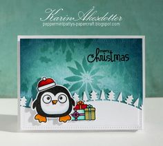 Peppermint Patty's Papercraft: Inspiration Emporium Challenge - Paper Smooches Penguin