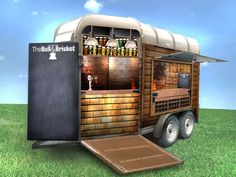 converted horse trailer - Google Search | foodtruck | Pinterest ...