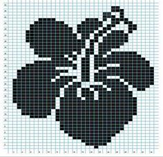 Ravelry: Hibiscus Flower Chart pattern by Elizabeth Thomas