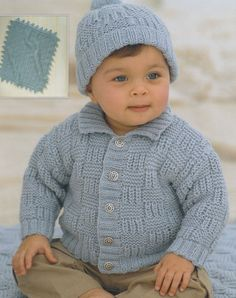 baby child knitting pattern cardigan pompom hat and blanket in double knit from birth to age 6 Source by etsy Baby Knitting Patterns, Baby Cardigan Knitting Pattern, Knitting For Kids, Double Knitting, Baby Patterns, Knitting Yarn, Baby Boy Blankets, Knitted Baby Blankets, Knitted Hats