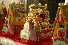 gingerbread house decorating party