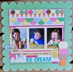 Summer Ice Cream by Jodi Wilton - Scrapbook.com