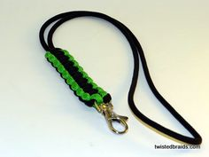 Wrist and Neck Lanyards / TWiSTED BRAiDS \ Paracord Bracelets - Necklaces - Wrist and Neck Lanyards