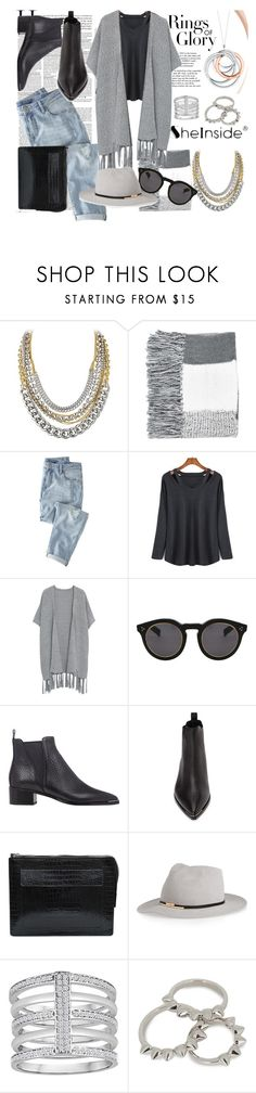 Designer Clothes, Shoes & Bags for Women Eddie Borgo, Eugenia Kim, Acne Studios, Tiffany, Mango, Topshop, Clothes For Women, Polyvore, Stuff To Buy