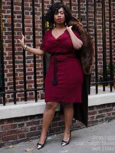 44741add92cf1 ISSUU - MASQUEmag Holiday 2013 Dress Lookbook by Kelly Augustine Curvy  Fashion