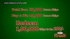 Join Classic Rummy to Play Rummy Games and Get 56,000 Promo Chips Free - http://best-videos.in/2012/10/30/join-classic-rummy-to-play-rummy-games-and-get-56000-promo-chips-free/
